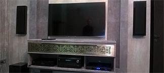 Домашний кинотеатр системы DOLBY DIGITAL конфигурации 5.1